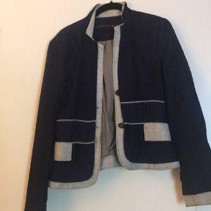Zara navy blue medium jacket